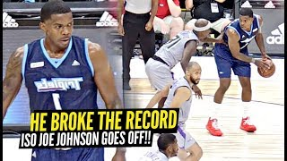 Iso Joe Johnson TOYS WITH EVERY DEFENDER & Then BREAKS The SCORING RECORD!!