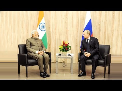 Media Briefing on the visit of President of Russia to India