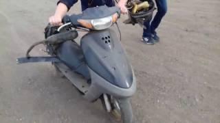 Обнова , Yamaha jog ca12j за 1000 рублей !