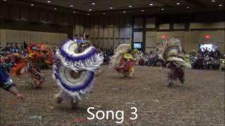 Fancy Dance Special @ Clearwater Powwow 2016 (Mens VS Boys)