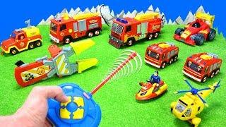 Feuerwehrmann Sam: Elektrische Feuerwehrautos & Spielzeugautos Für Kinder | Spielzeug Unboxing