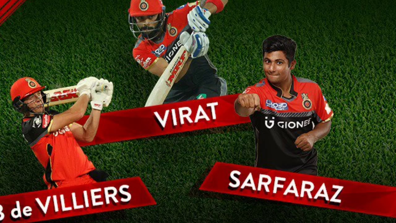 Ipl 2018 Royal Challengers Bangalore Full Squad List And Theme Song
