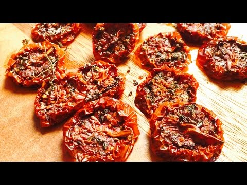 Simple Way To Make Dried Tomatoes By Rommy's Recipes