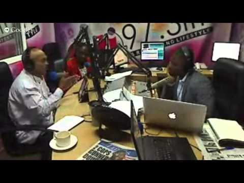 Sydney Casely Hayford On The Citi Breakfast Show