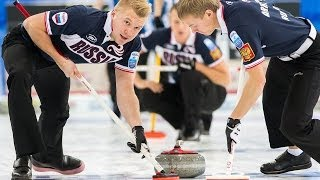 CURLING: SWE-RUS Euro Chps 2013 - Men Draw 6