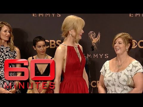 Liane Moriarty's hilarious Emmy's moment with Keith Urban | 60 Minutes Australia