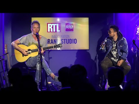 Sting & Shaggy - Angel (Live) Le Grand Studio RTL