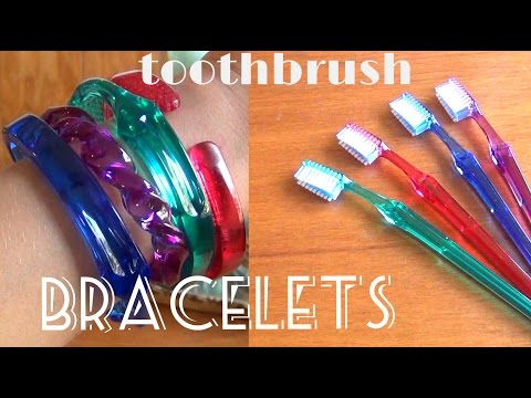 diy-fashion-♥-toothbrush-bracelets