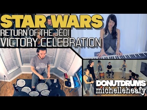 Star Wars : Return Of The Jedi  Victory Celebration DonutDrums, michelleheafy