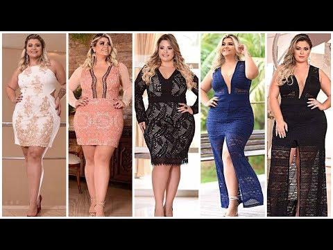 Vestidos de noche plus size 202019