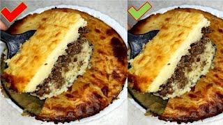 Картофельная запеканка с фаршем очень вкусный рецепт Картошка с мясом в духовке Готовим дома Tasty