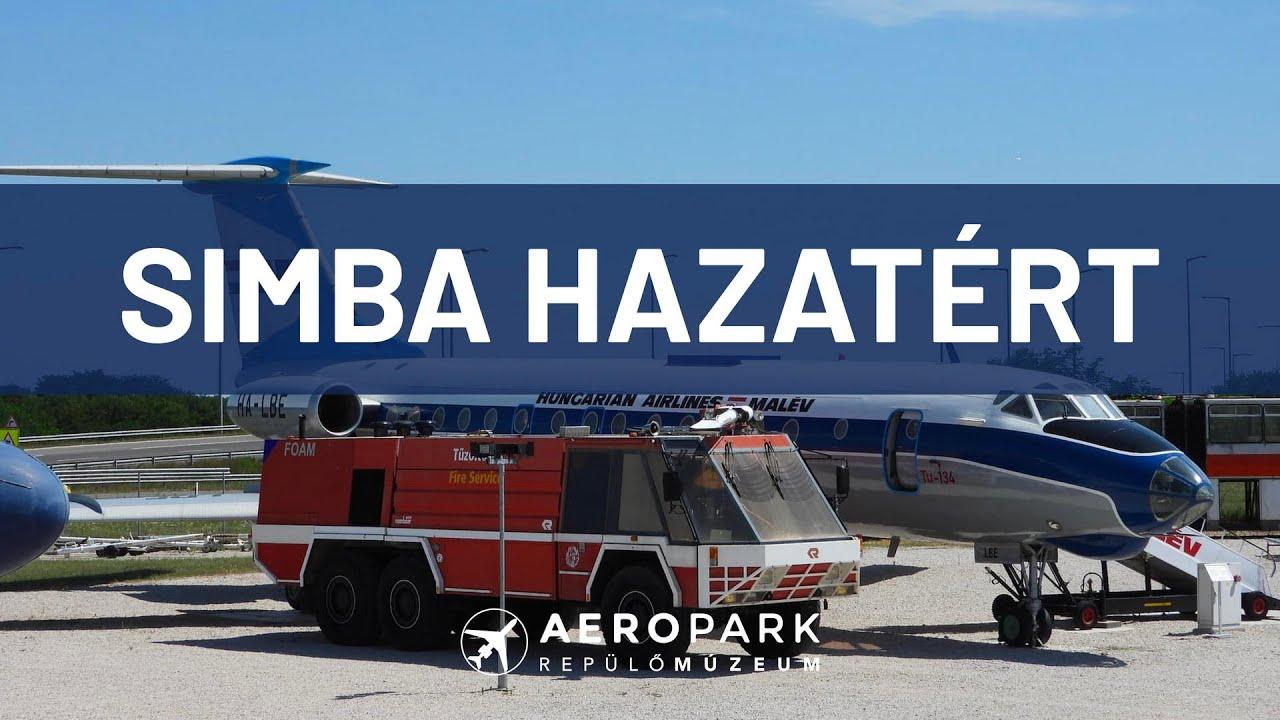 Simba hazatért: a legendás reptéri tűzoltóautó megérkezett az Aeroparkba (Ep. 161)