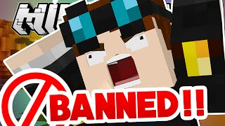 Minecraft   BANNED FROM SOMEONE'S HOUSE?!