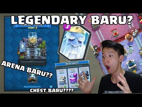 LEGENDARY BARU DI  CLASH ROYALE ( ROYAL GHOST )!! + BUKA LIGHTING CHEST! CLASH ROYALE INDONESIA