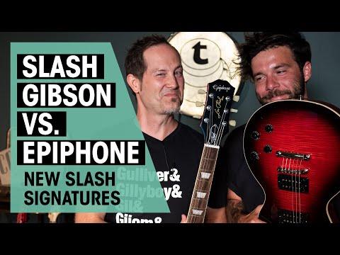 New Epiphone Slash Signature vs. Gibson   Thomann