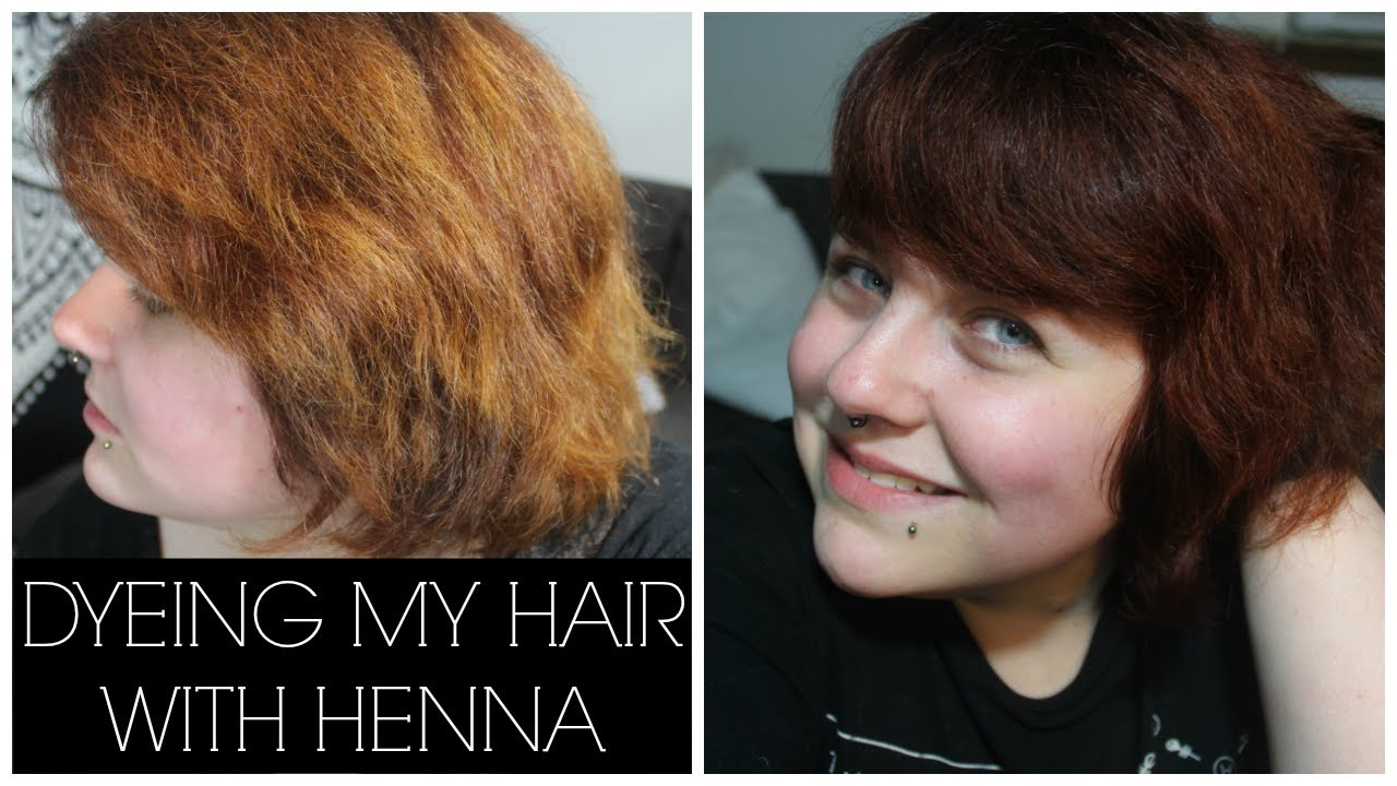 Dyeing My Hair With Henna Henna Color Lab Youtube
