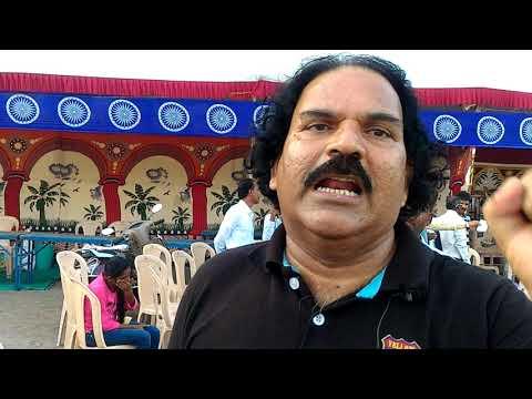 JALSAKAR SAMBHAJI BHAGAT LIVE BATA PRABODHAN FESTIVEL ROJACH DHAMMA PRASAR