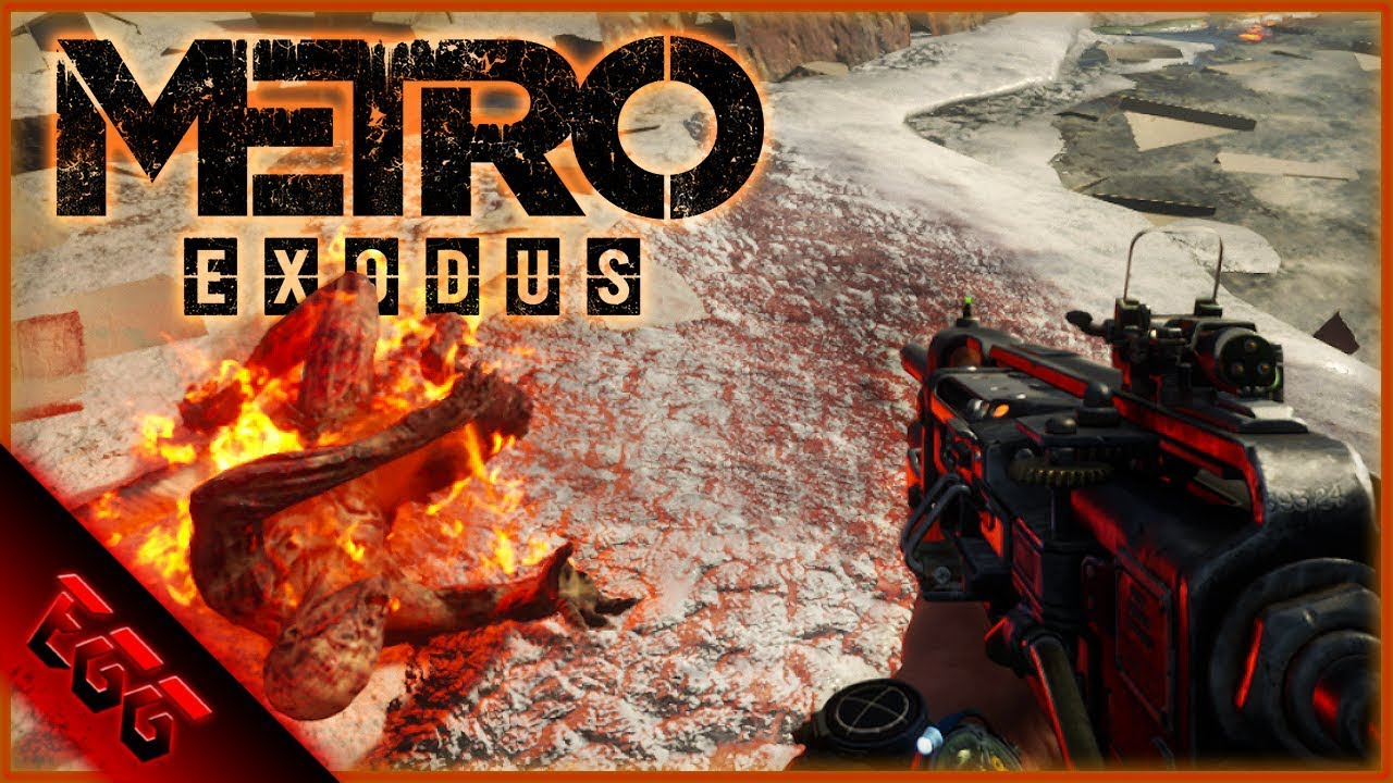 Metro Exodus Part 19 Motion Tracker And Freeing Slaves Youtube