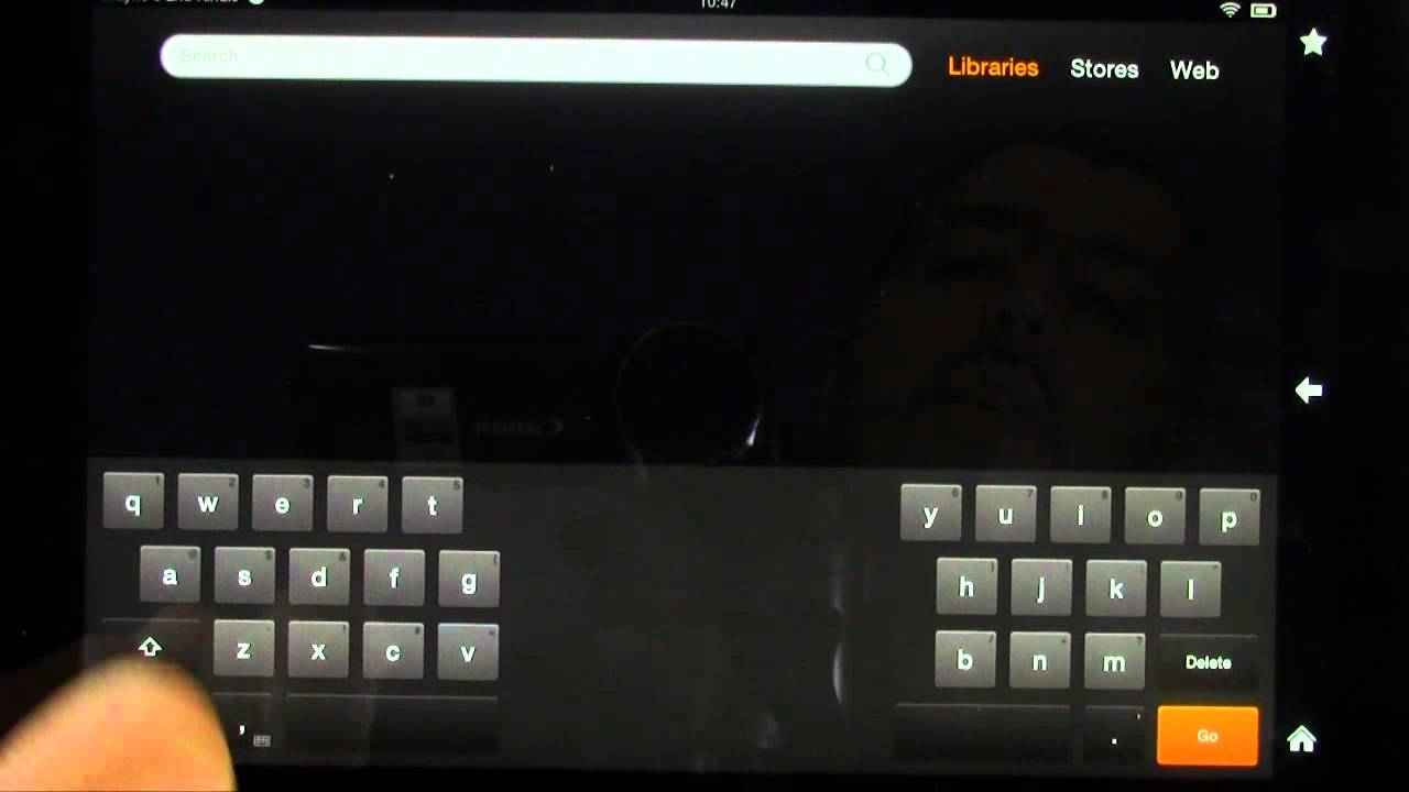 How To Split The Keyboard On The Kindle Fire Hd 8 9 Google Chrome  Incognito Mode How To Clear Twitter Search History