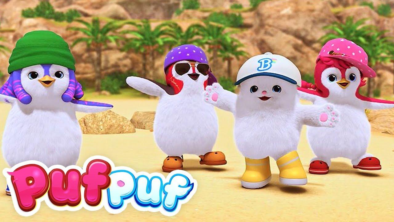 Download Cântă și dansează cu prietenii pufoși | Cântece Puf Puf pentru copii