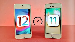 iPhone 5S iOS 12 vs iPhone 5s iOS 11 - Speed Test!