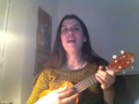 Slip Slidin Away Covering Paul Simon On Ukulele Youtube