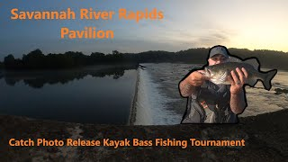 Fishing Savannah River Rapids Pavilion (Kayak CFR Tournament)