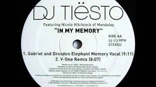 DJ Tiësto - In My Memory (V-One Remix)