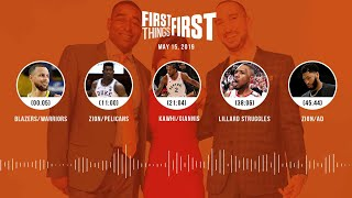 First Things First audio podcast (5.15.19)Cris Carter, Nick Wright, Jenna Wolfe | FIRST THINGS FIRST