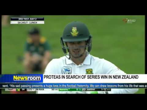 Newsroom: Proteas In search of  series win In New Zealand