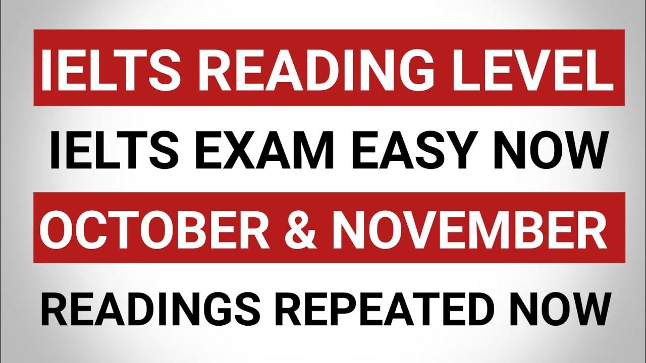 IELTS EXAM EASY | IELTS READING | 9 October ielts exam | 14 October ielts exam | 16 October ielts
