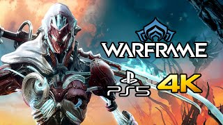 Warframe - PS5 Gameplay (4K, 60 FPS)