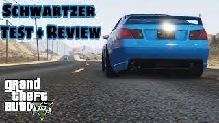 Schwartzer [Mercedes-Benz] REVIEW + TEST   GTA ONLINE #0   PS4
