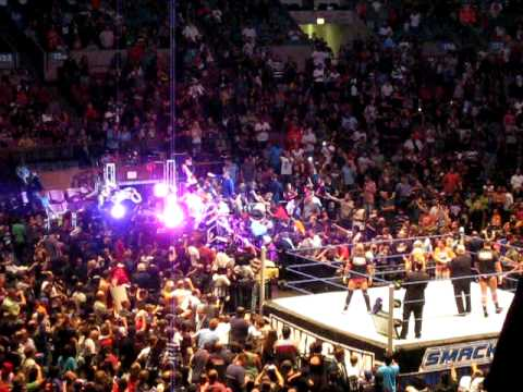 Attractive WWE Smackdown World Tour At Madison Square Garden Bret Hart Entry + Tribute Design