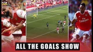 Arsenal 2-1 Burnley Aubameyang, Lacazette | All The Goals Show | English Premier League