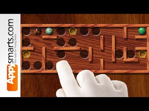 Marble Maze Puzzle Game -  IPad/iPhone/Android Balance Wooden Like Puzzler (free!)
