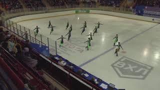 Чемпионат России по синхронному катанию KMC Короткая программа 1 Симфония KRA