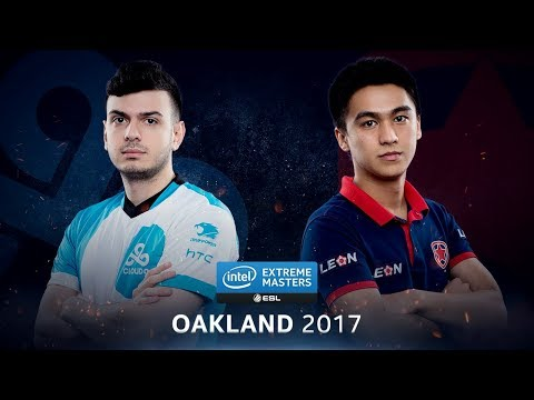 CS:GO - Cloud9 vs. Gambit [Mirage] Map 3 - Quarterfinal - IEM Oakland 2017