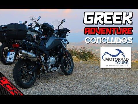 BMW Motorrad Greek Adventure Concludes