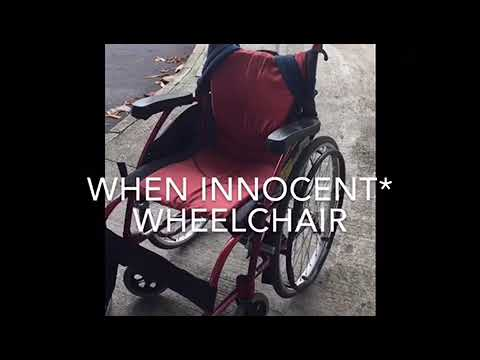 wheelchair killer wicker swing chair outdoor footage youtube