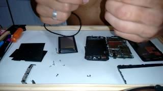 Ressuscitando o Motorola RAZR D3 da tela preta e luz verde