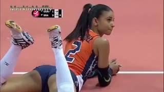 Уинифер Фернандез 21 летняя волейболистка из Доминиканы