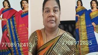 New collections sarees episode 19/ Tamil mind awareness .