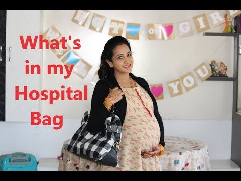 LasyaTalks| What is in My Hospital Bag. .? for Labour| Delivery| LasyaManjunath