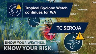 Severe Weather Update: Tropical Cyclone Watch continues for WA - 10 April, 2021