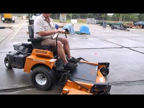 Woods Mow'N Machine 6180 - YouTube