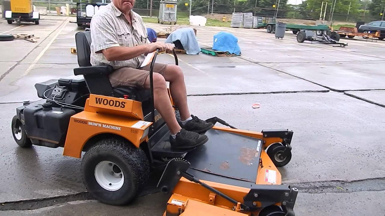 woods mow n machine