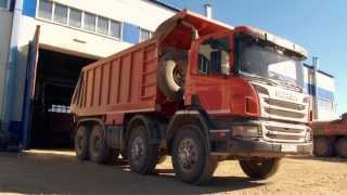 Самосвалы Scania для Забайкалья