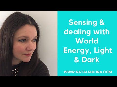 Sensing & Dealing w World Energy, Light & Dark