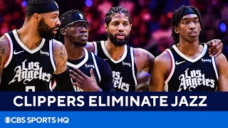 Jazz vs Clippers: Terance Mann scores 39 as Clippers make first Conference Finals | CBS Sports HQ